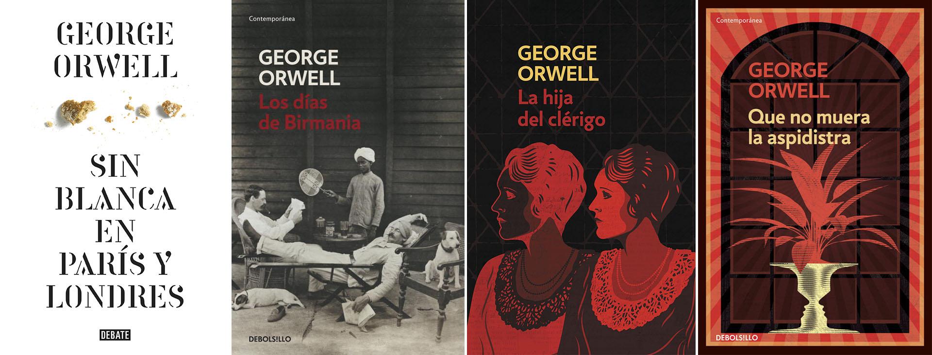 Los 4 libros que Orwell ya había publicado antes de partir hacia la guerra