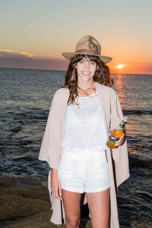 Helena Ayerza también disfrutó del sunset de Miller Genuine Draft