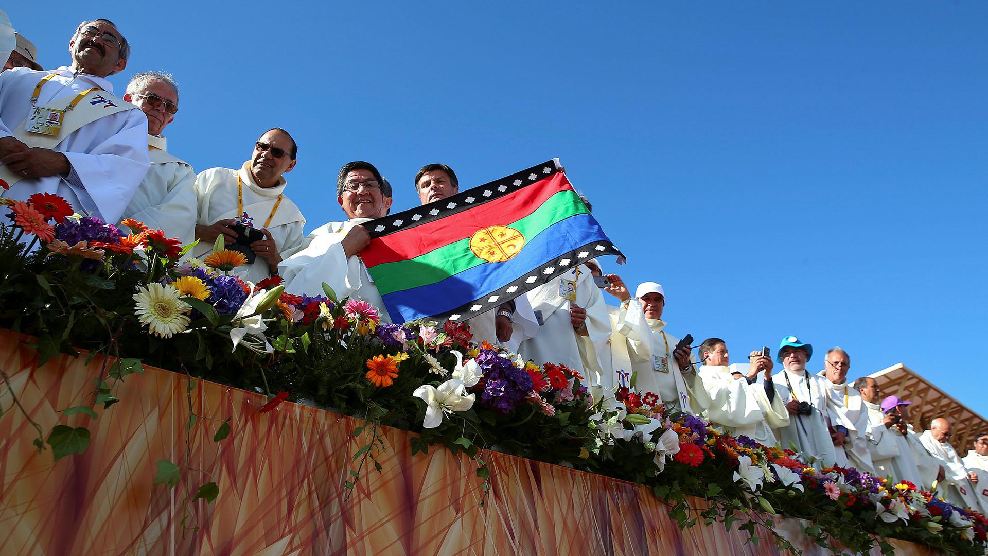 Miles de personas se reunieron para escuchar la misa de Francisco (Reuters)