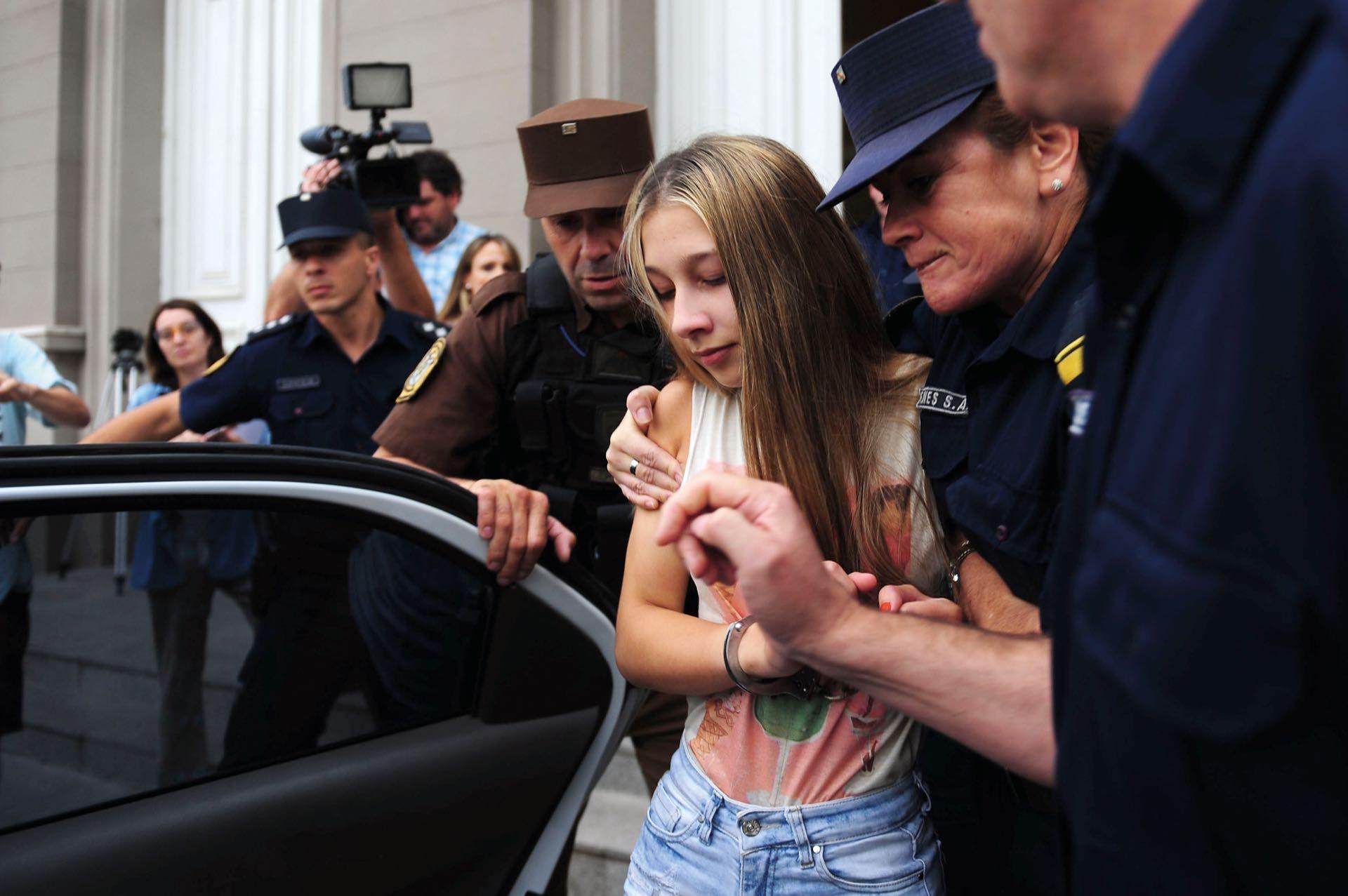 Nahir Galarza está detenida por el crimen de su ex novio, Fernando Pastorizzo