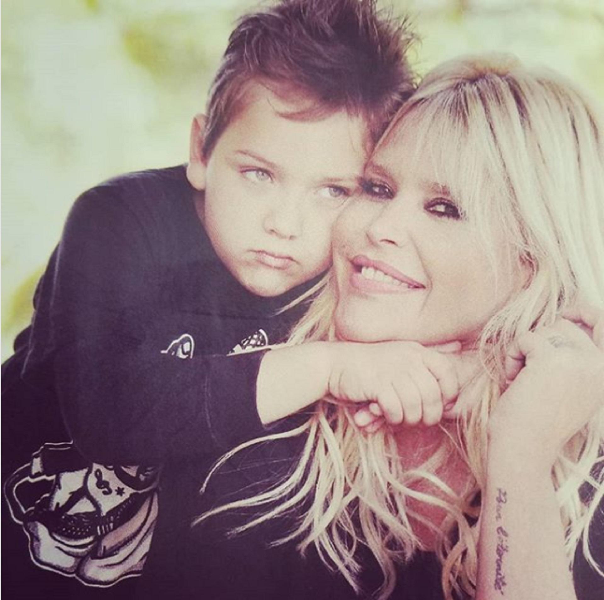 Nazarena Vélez con Thiago, el hijo que tuvo con Fabián Rodríguez