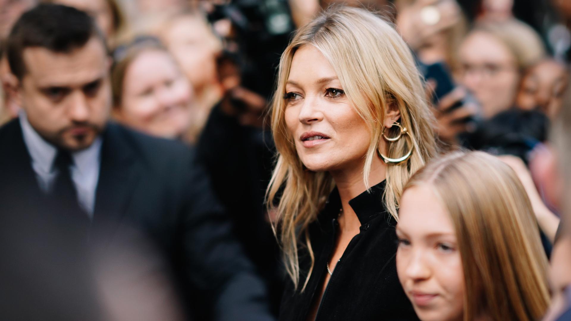 "Kate Moss, los medios británicos la apodaron la ""anti modelo British"" (Getty Images)"