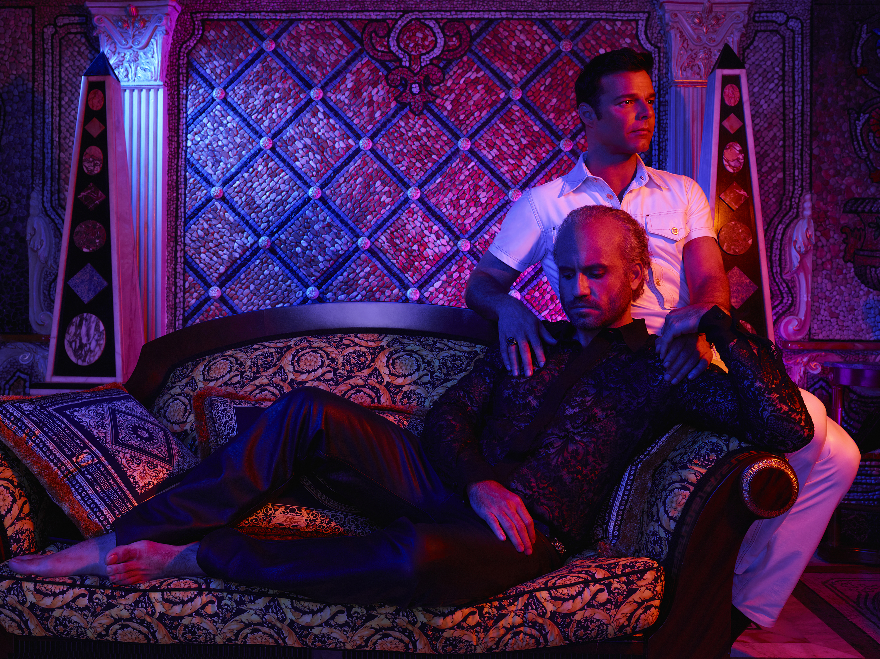 The Assassination of Gianni Versace: American Crime Story es protagonizada por Edgar Ramirez y Ricky Martin