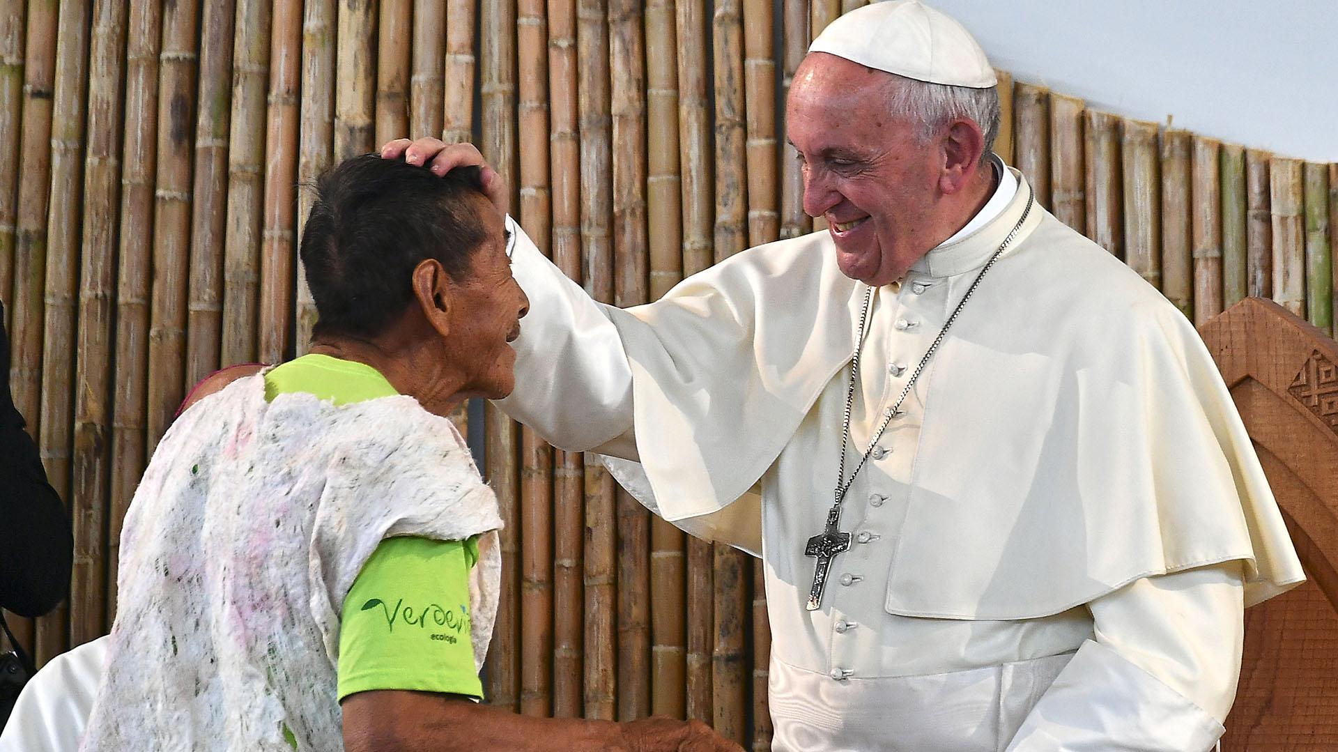 El encuentro del Papa duró más de dos horas