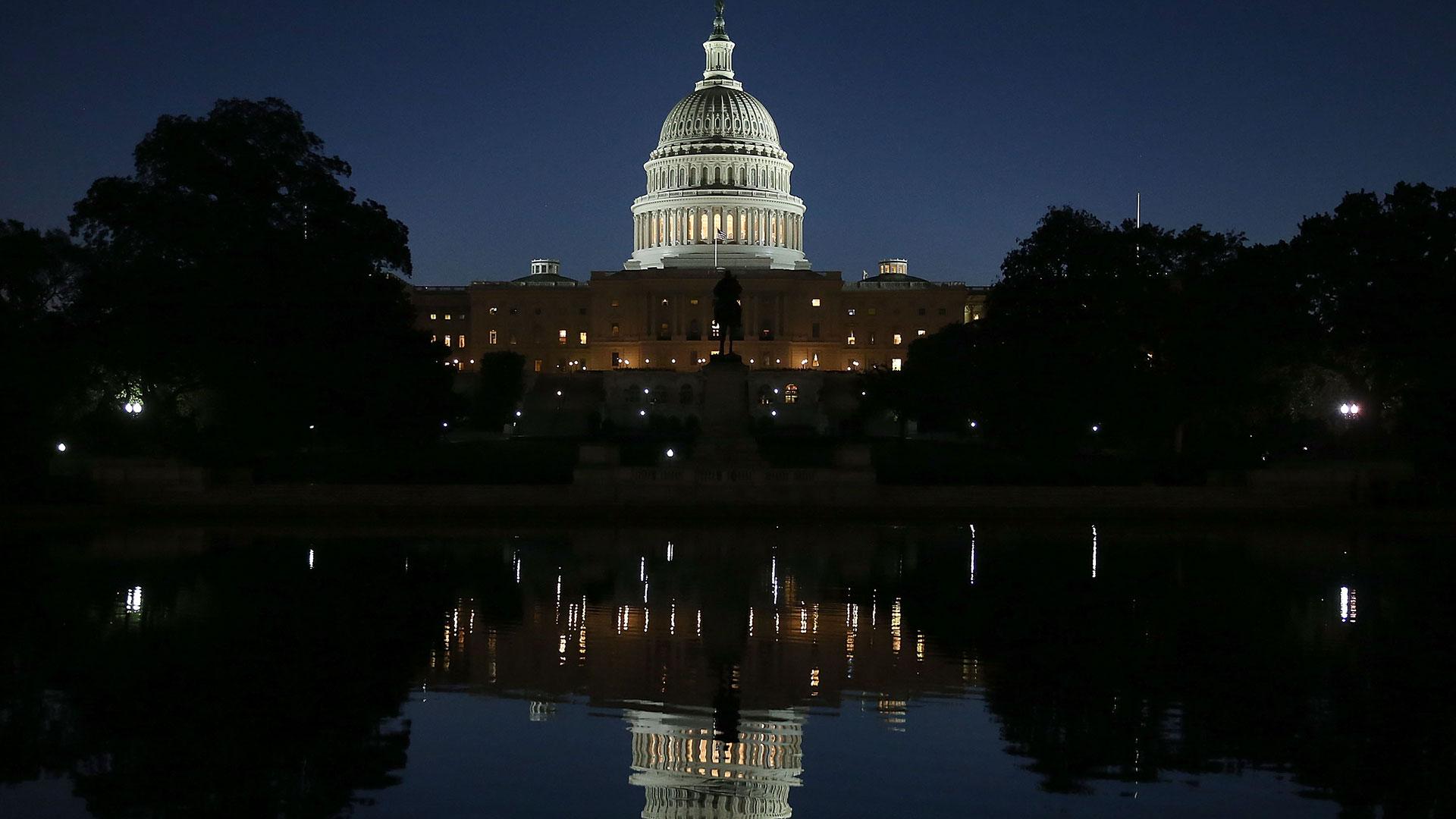 Los republicanos mantienen el control en el Senado y los demócratas en la Cámara Baja (Getty Images)