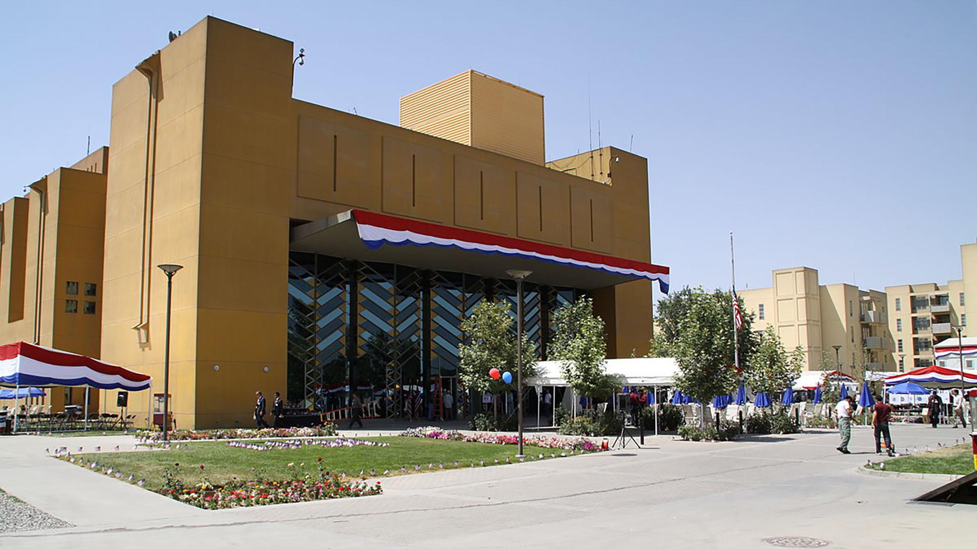 Embajada de Estados Unidos en Kabul