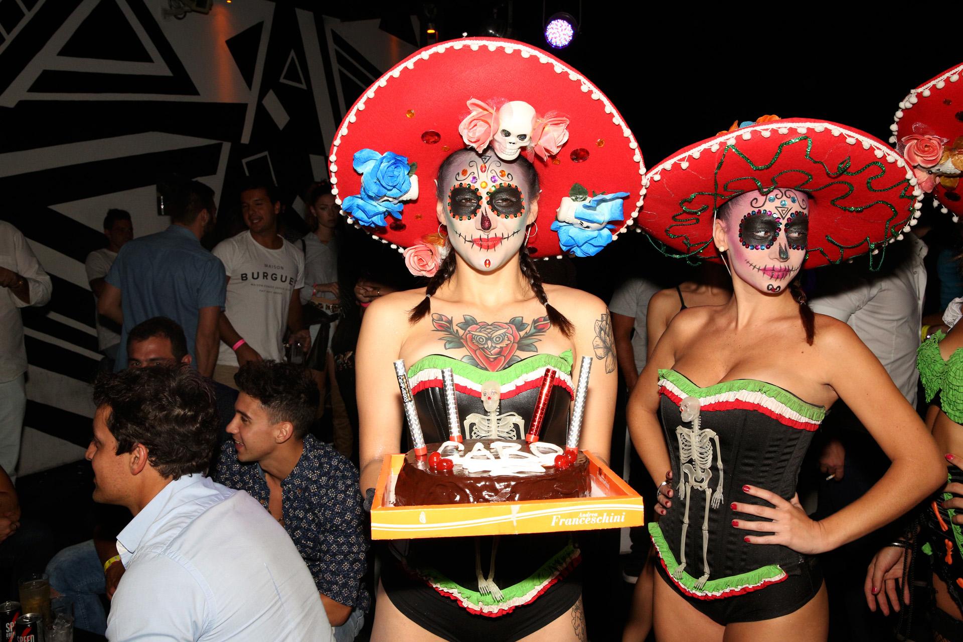 El cumpleaños tuvo decoración al estilo mexicano