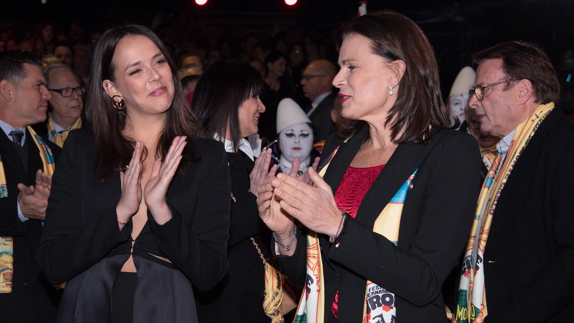 La pasión de Estefanía es compartida con su hija, Pauline Ducruet, que cada año la acompaña a la presentación de este Festival