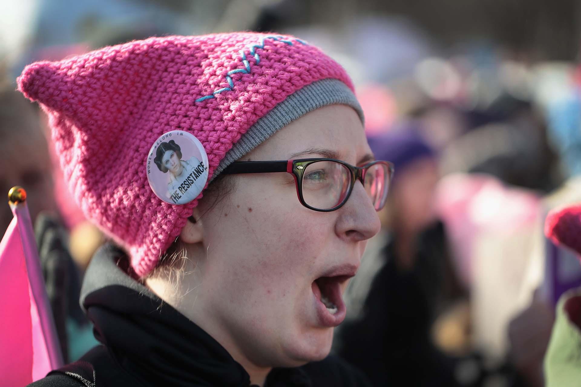 Chicago también fue centro de protestas este sábado(Scott Olson/Getty Images/AFP)