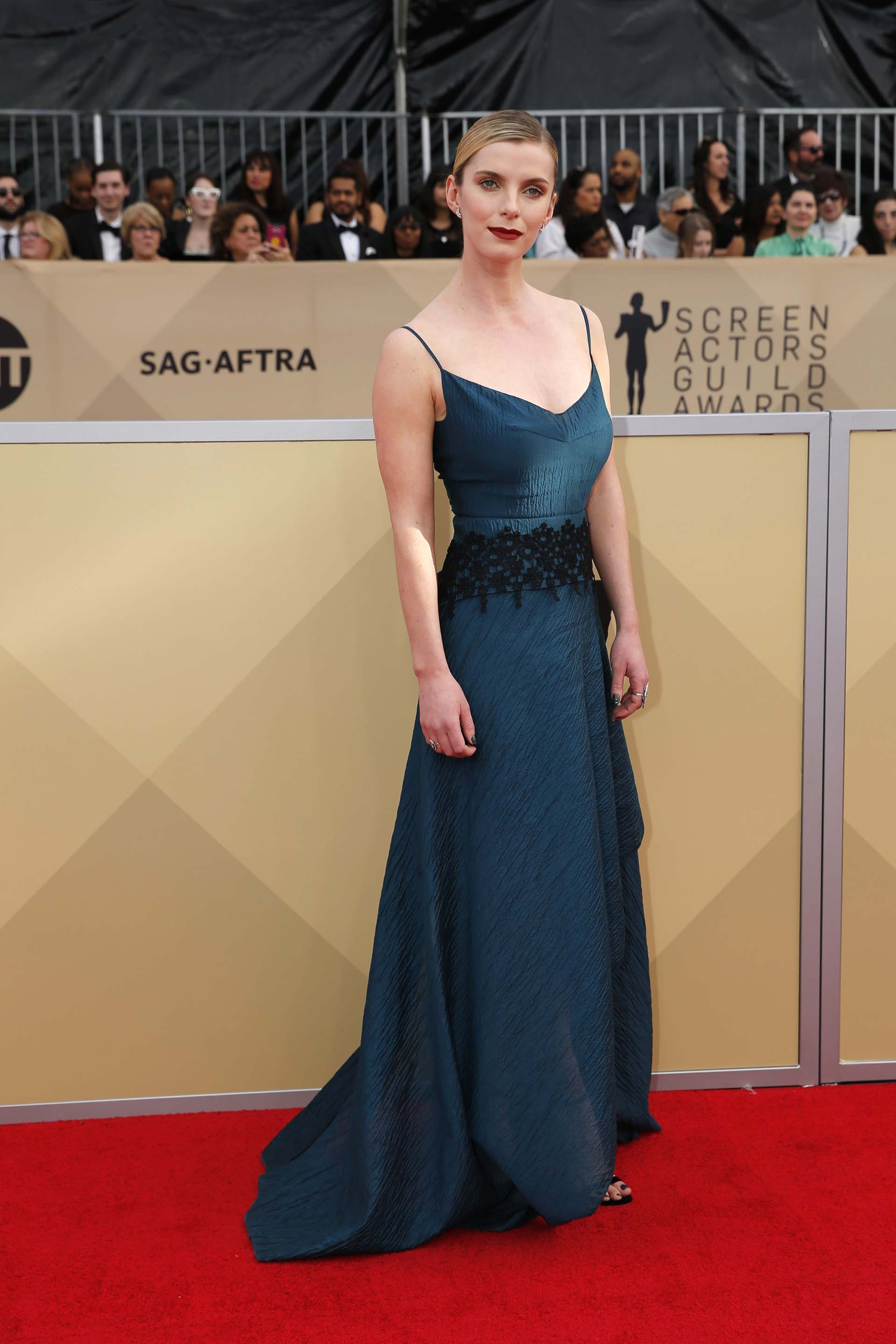 Betty Gilpin (REUTERS/Monica Almeida)