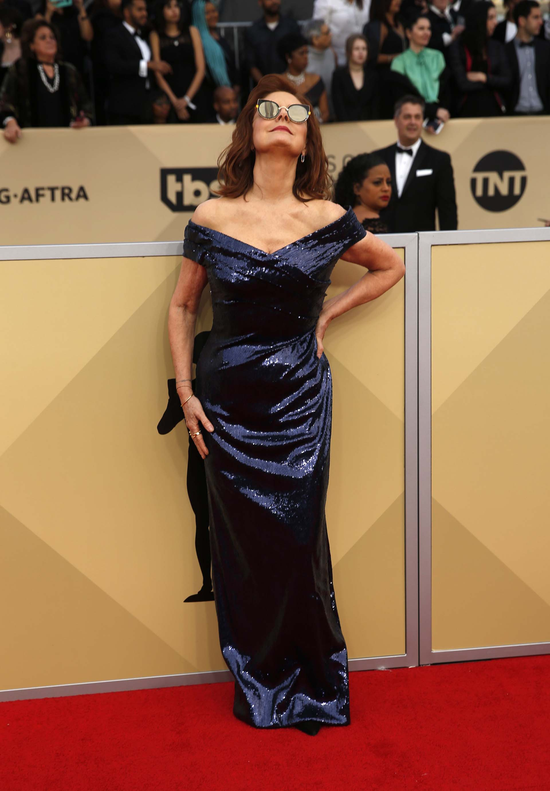 Susan Sarandon (REUTERS/Monica Almeida)