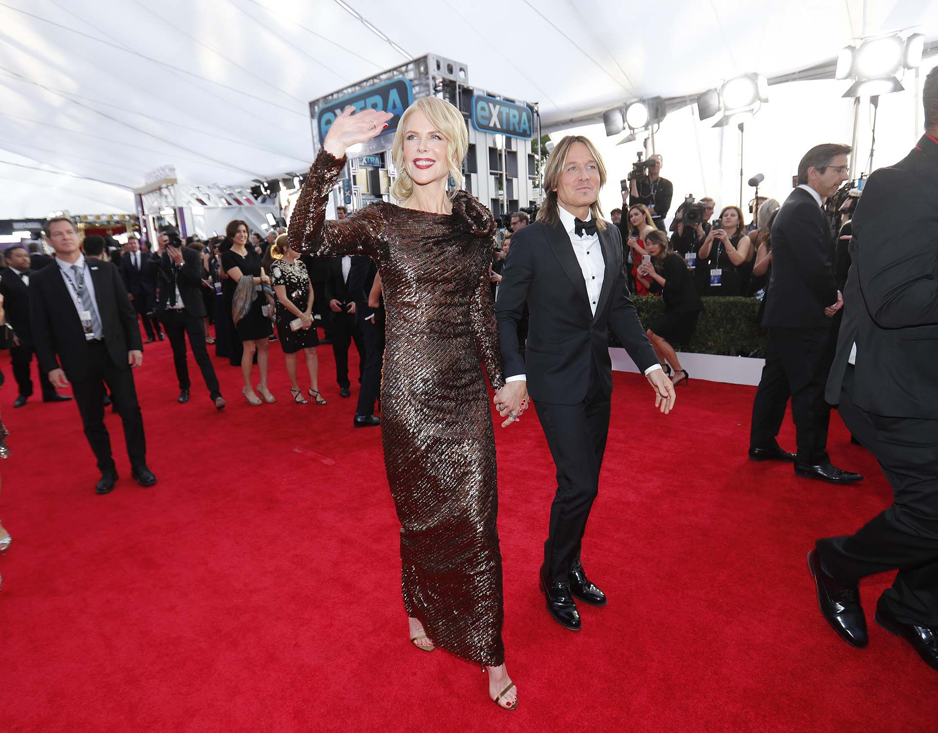Nicole Kidman y Keith Urban (REUTERS/Mike Blake)