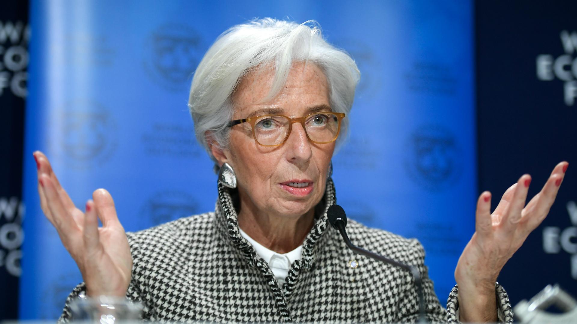 La directora del Fondo Monetario Internacional Christine Lagarde (AFP)