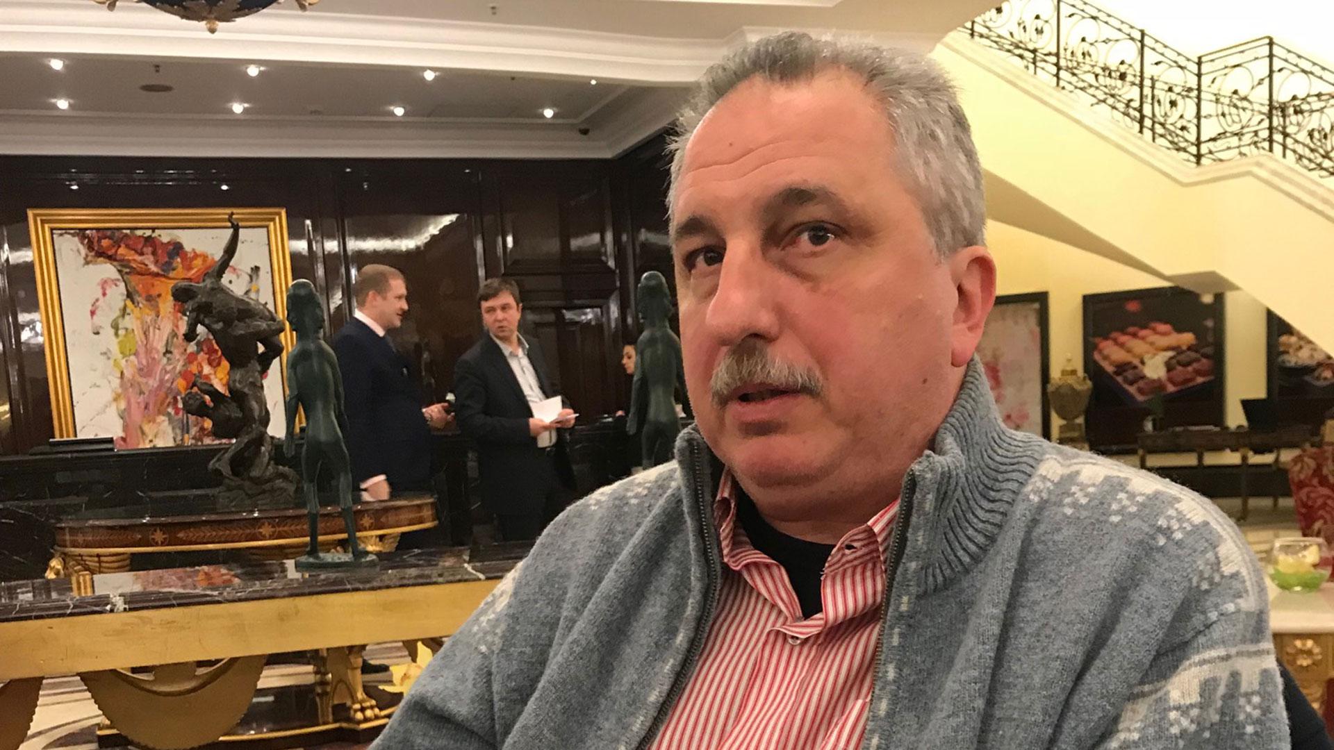 El gobernador de Misiones Hugo Passalacqua