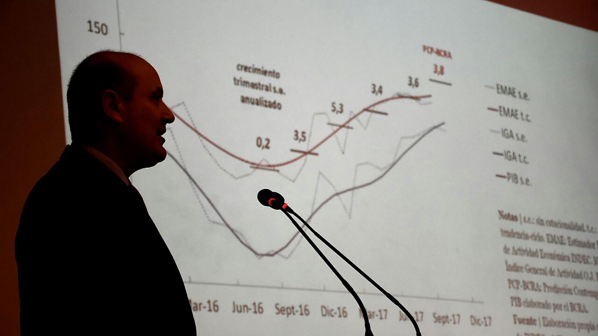 Federico Sturzenegger volverá a hacer un repaso sobre el desempeño de los agregados monetarios y la economía real (Nicolás Stulberg)
