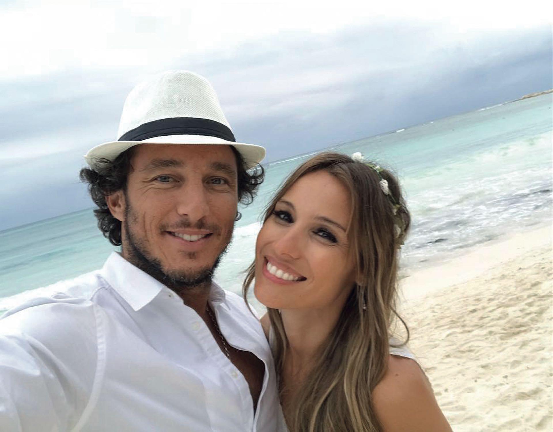 Pico y Pampita, felices durante sus vacaciones en México a principios de año