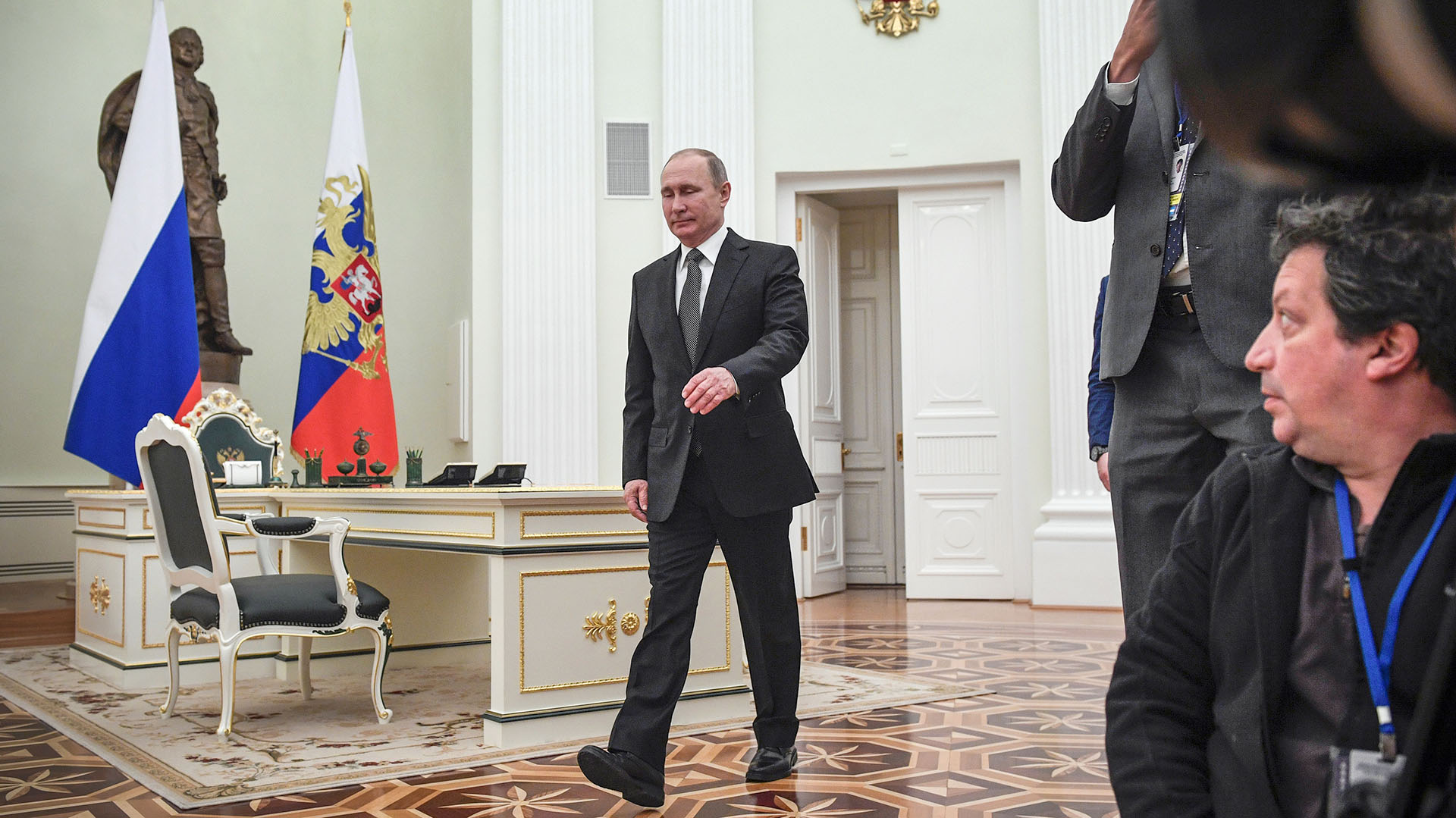 El presidente de Rusia, Vladimir Putin (AFP)