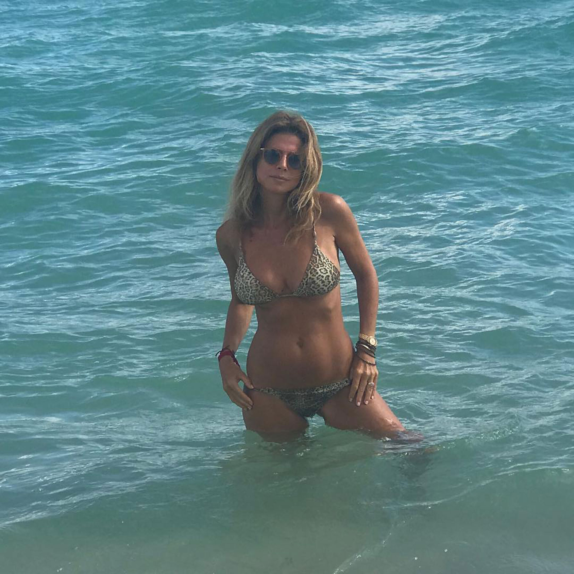 Flavia Palmiero tiene 51 años y desde su cuenta de Instagram se mostró al natural y sin filtros. (Foto: Instagram)