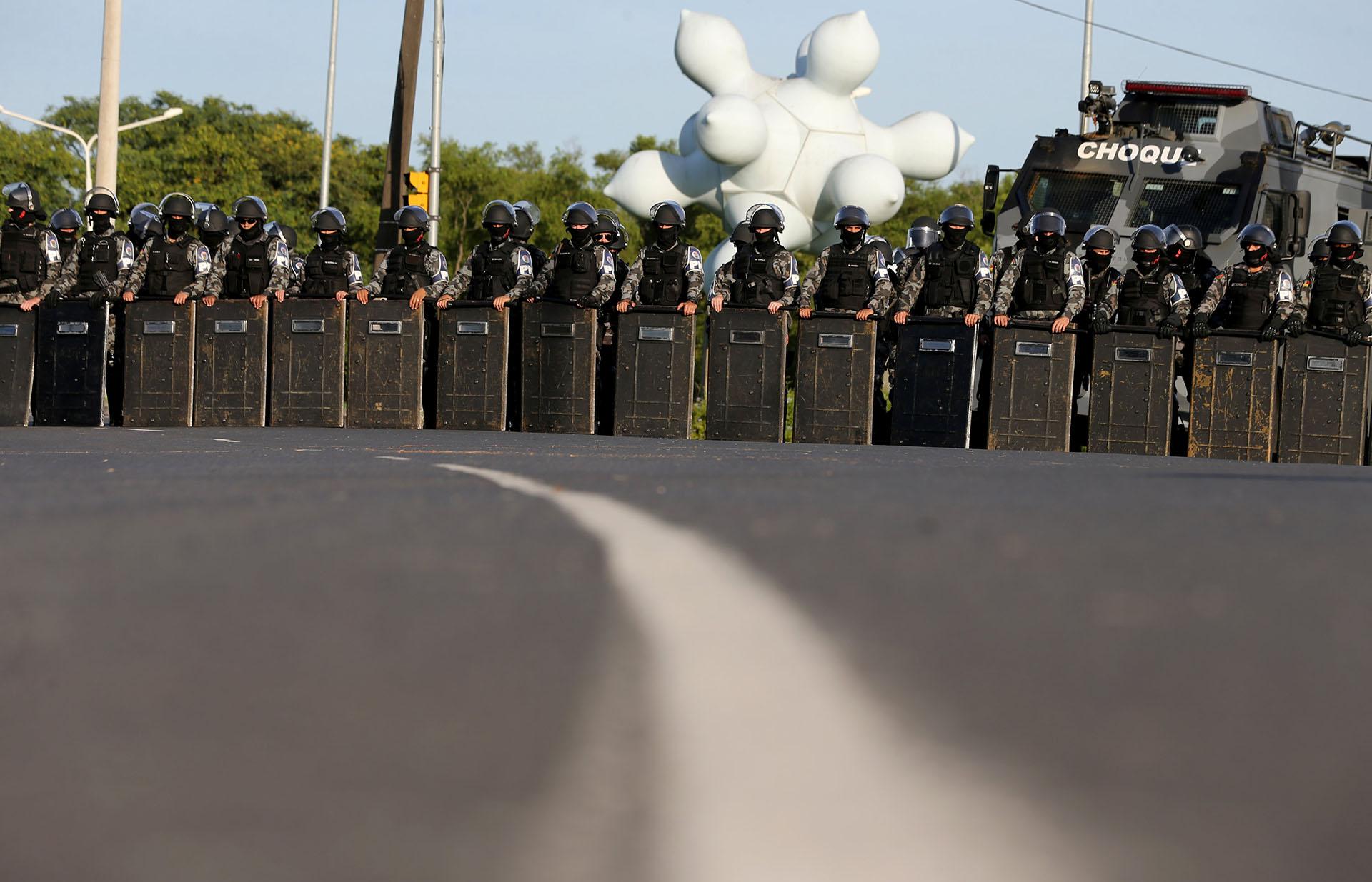 Las autoridades temen enfrentamientos entre partidarios y contrarios a Lula (Reuters)