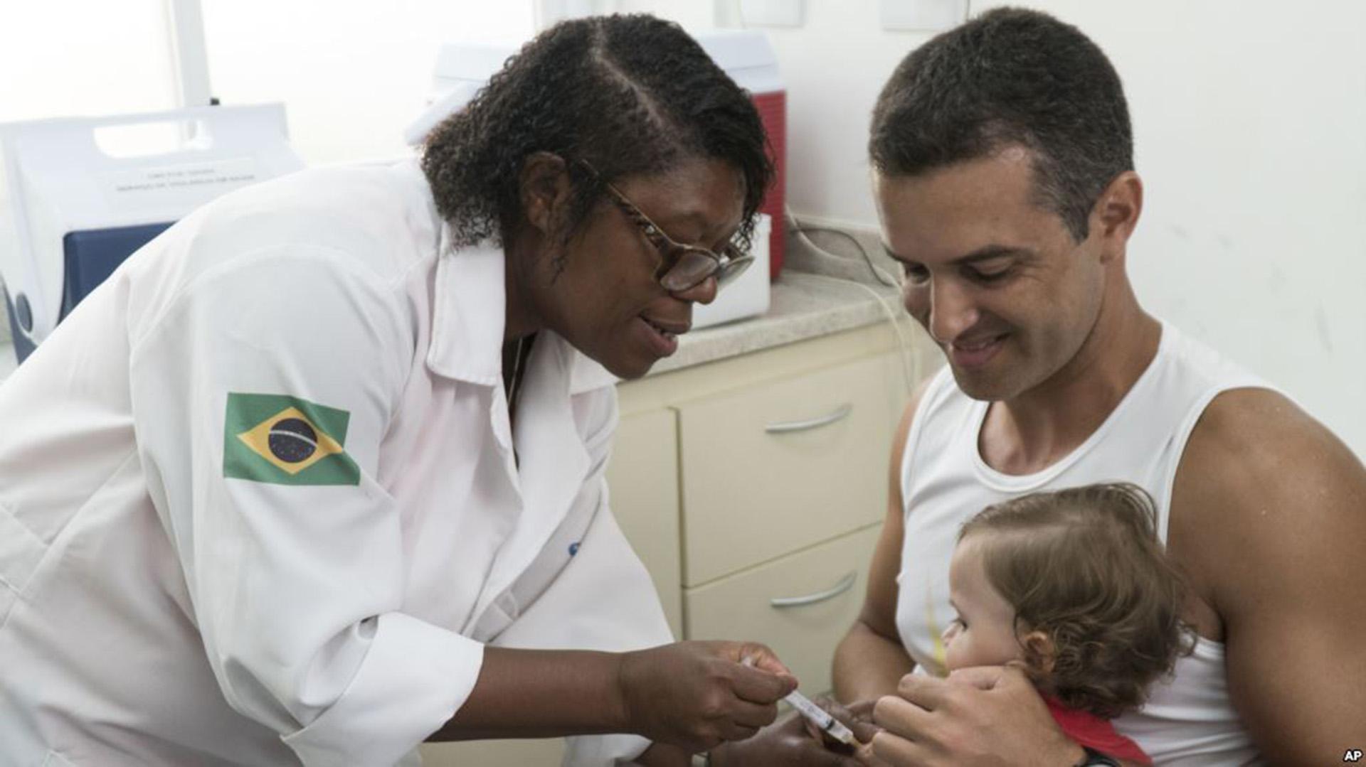 El estado de San Pablo lanzó una campaña de vacunación masiva