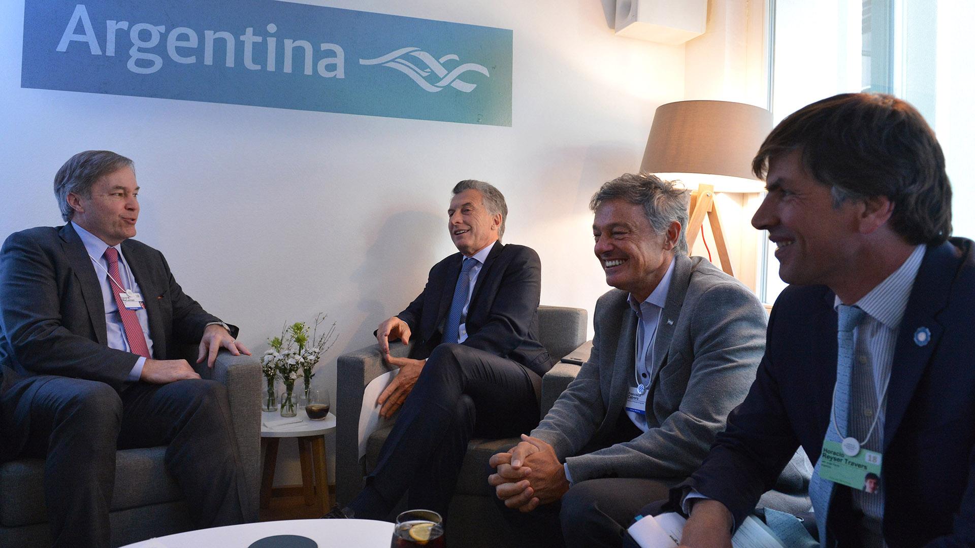Resultado de imagen para Macri con David MacLennan,