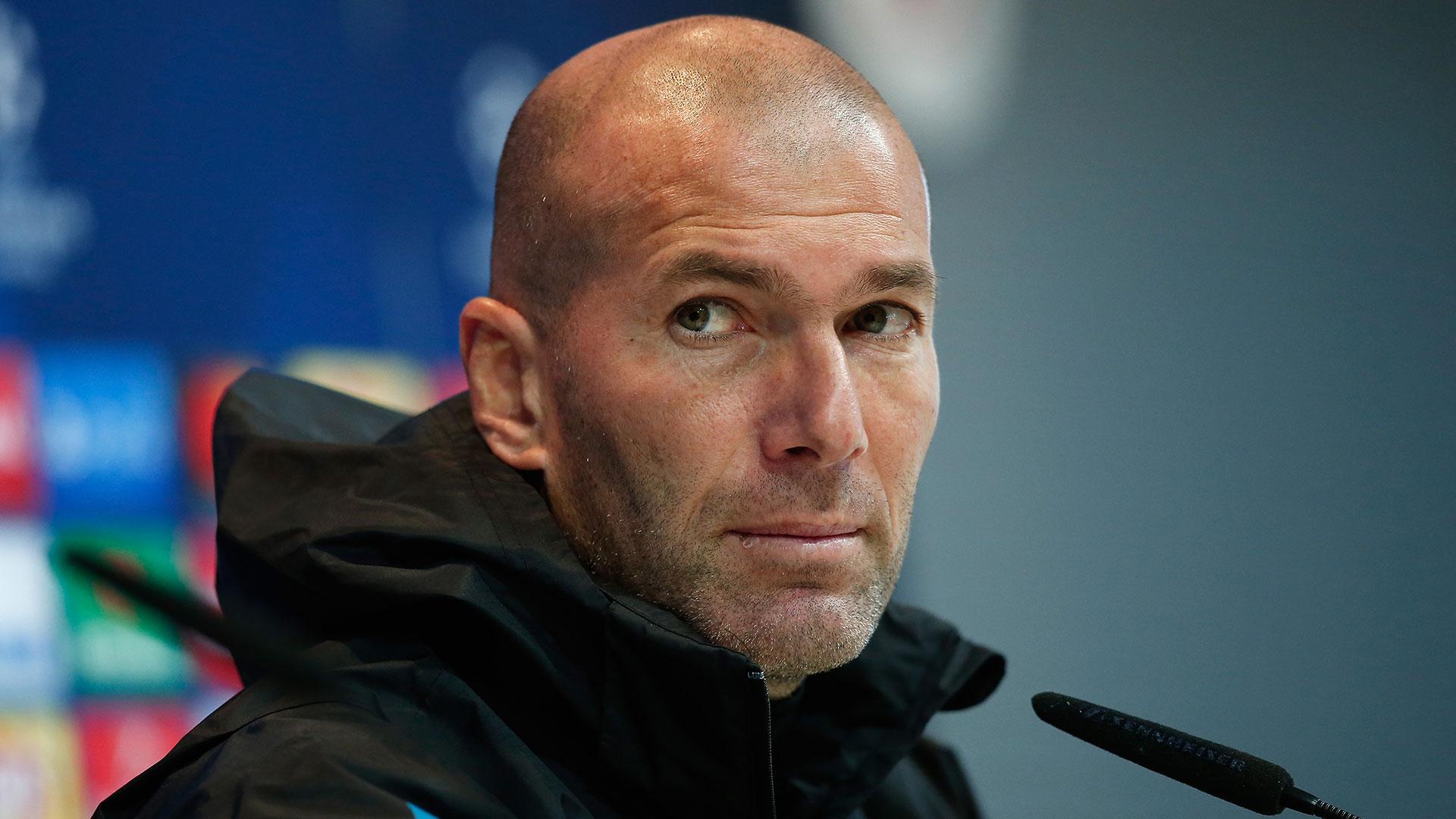 En caso de quedar eliminado, Zidane podría dejar de ser el entrenador del Real Madrid (Getty)