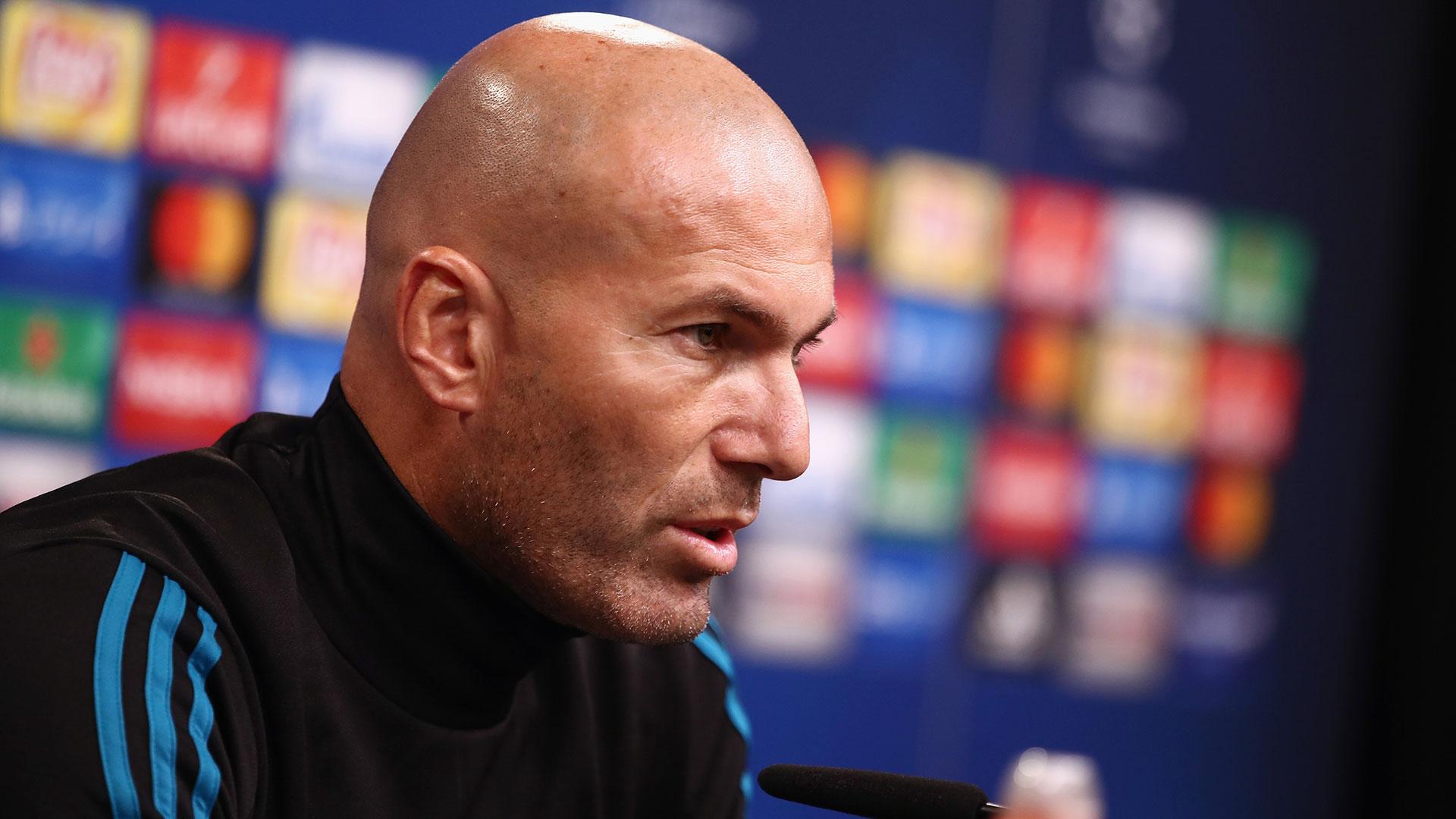 Zinedine Zidane se juega su futuro ante el PSG (Getty)