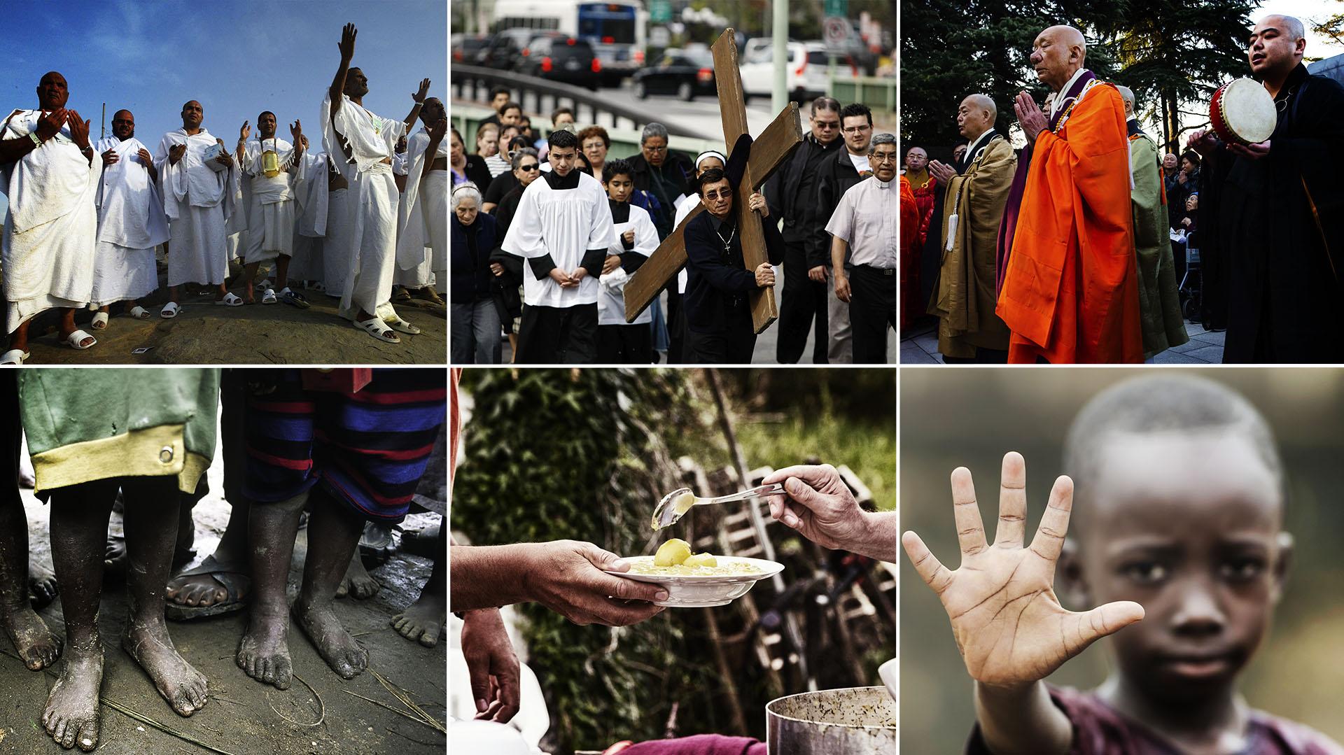 Los pueblos más pobres suelen ser lo más religiosos, pero esta relación es compleja