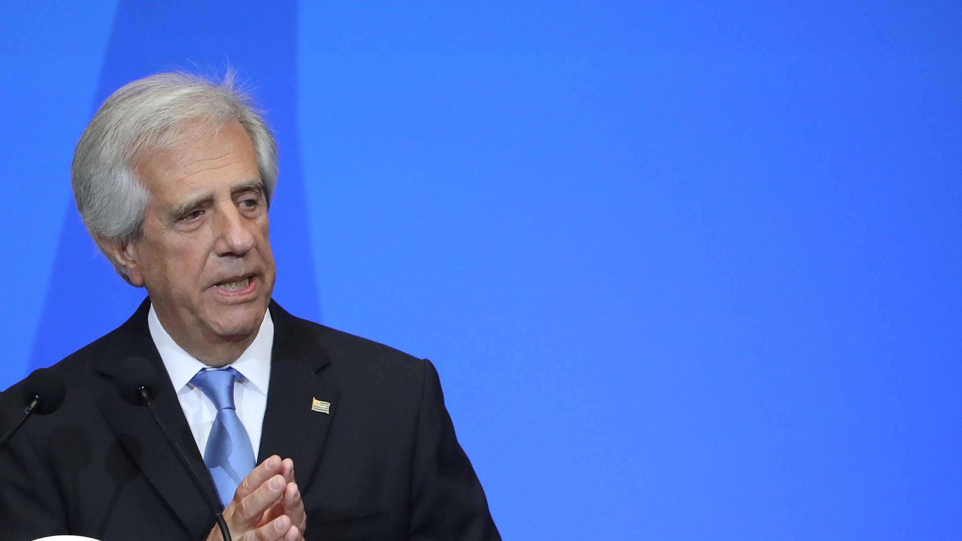 El presidente de Uruguay, Tabaré Vázquez (Getty)