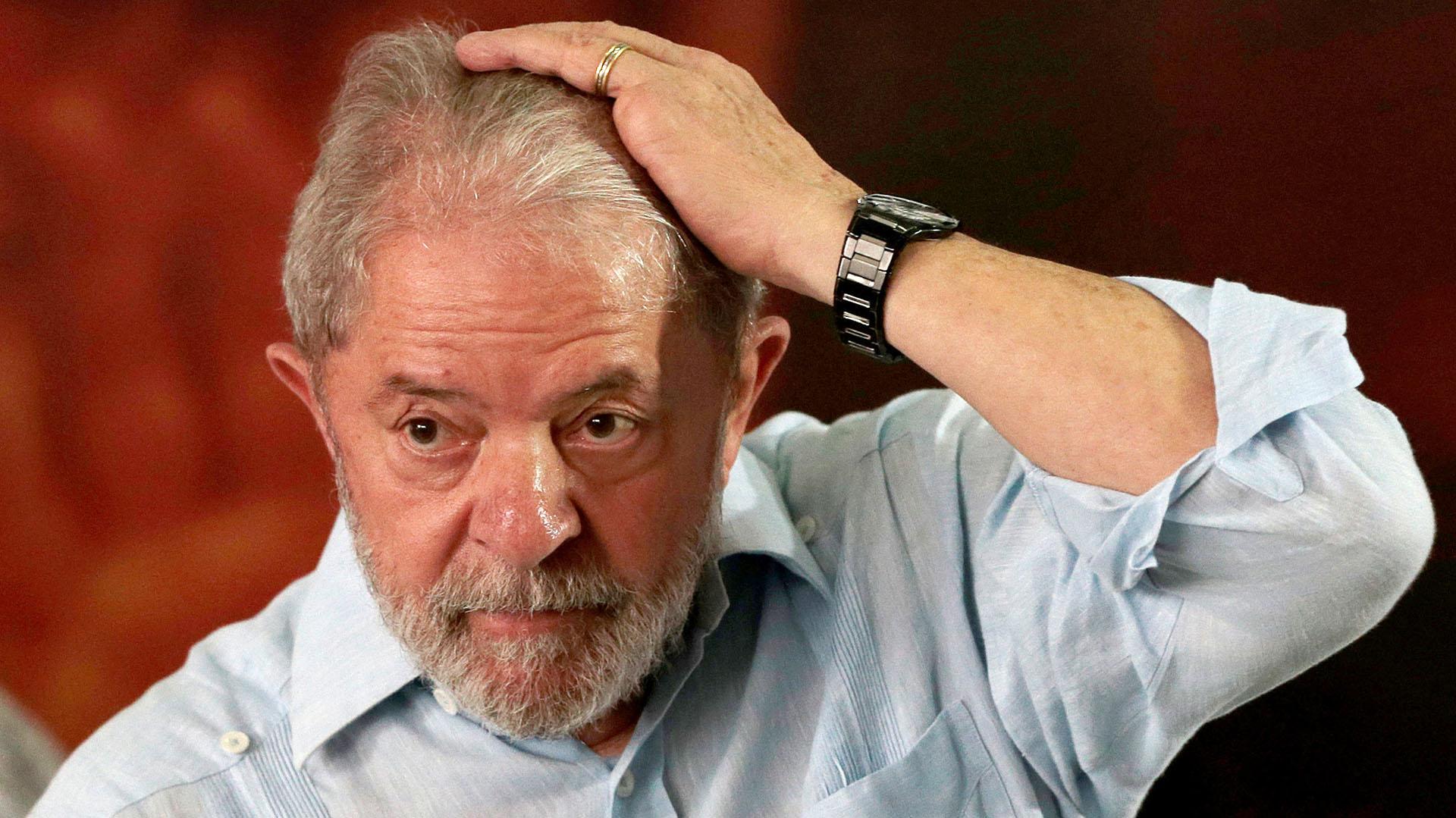 Lula en el acto de relanzamiento de su candidatura (Reuters)