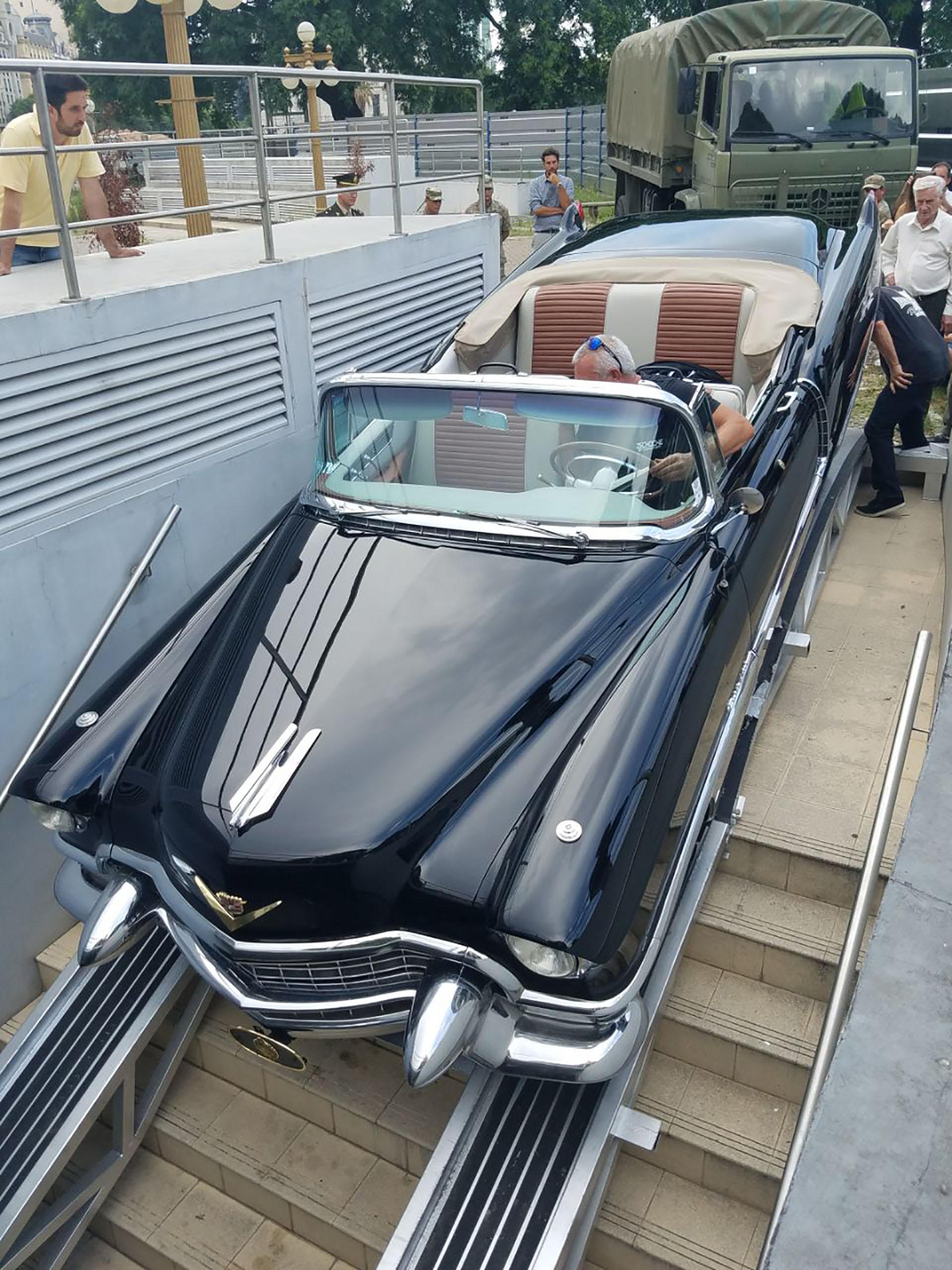 El Cadillac de Perón estará expuesto en forma permanente en el Museo Casa Rosada