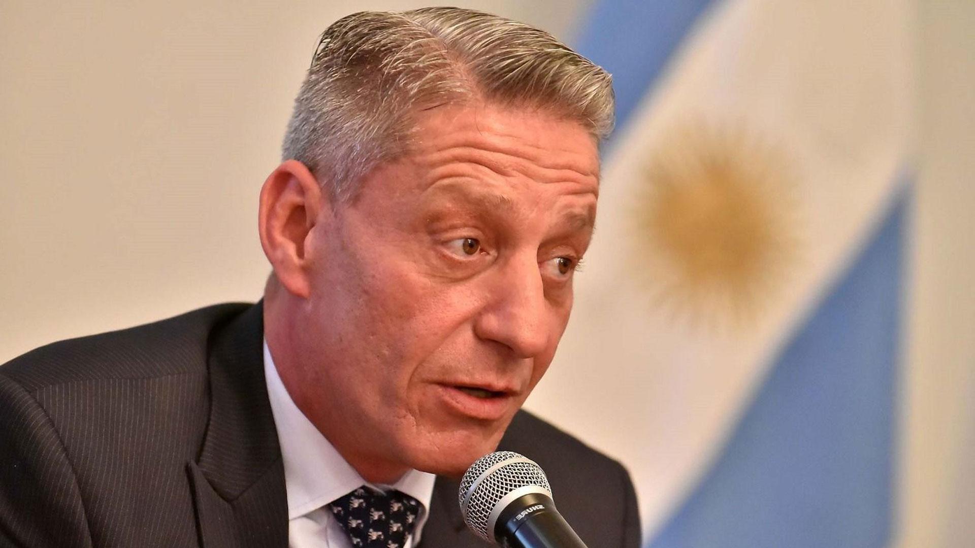 El gobernador de Chubut, Mariano Arcioni (Diario El Chubut)