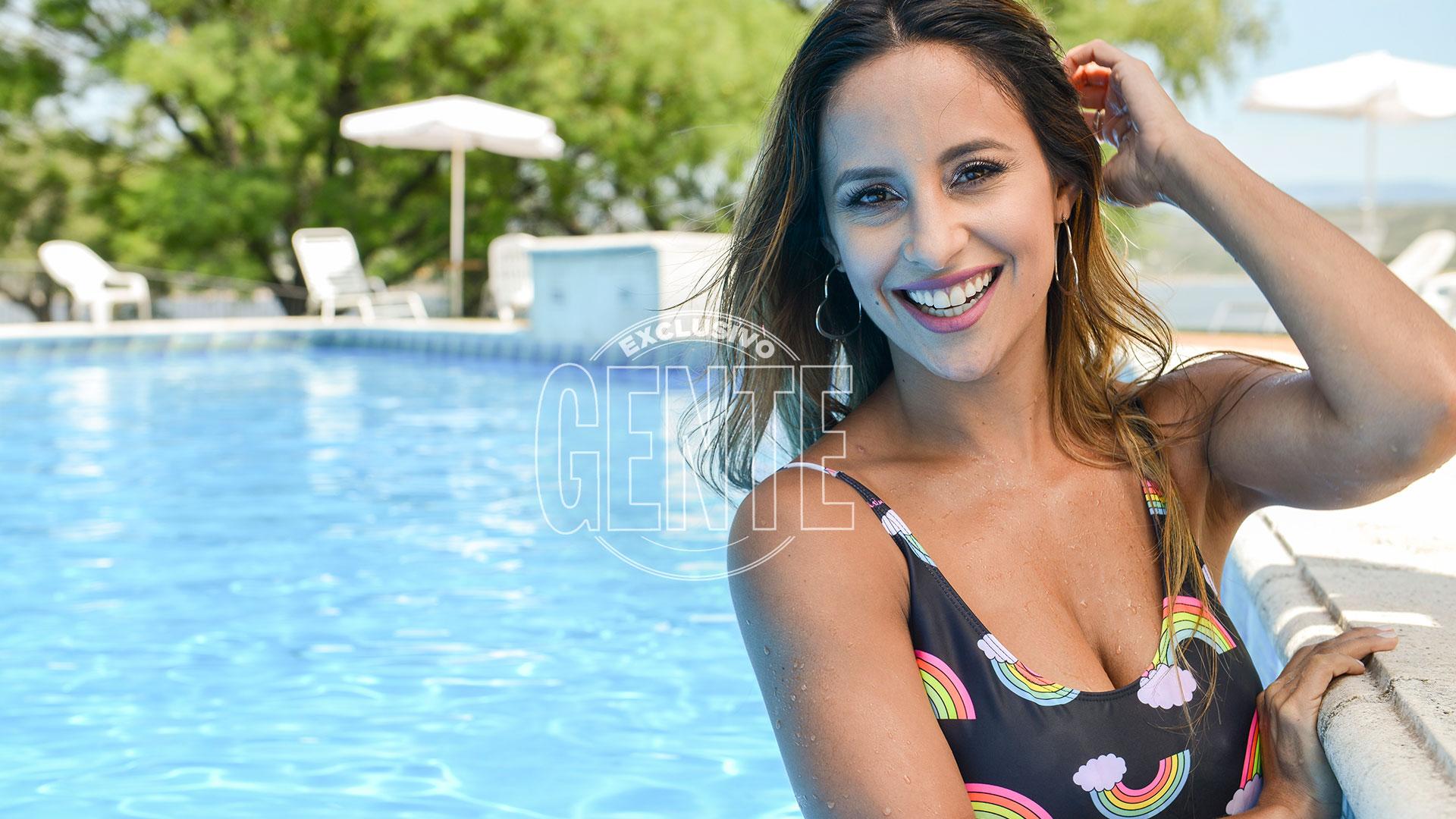 Lourdes Sánchezdisfruta además de la crianza de Valentino (Foto: Fabián Uset/GENTE)