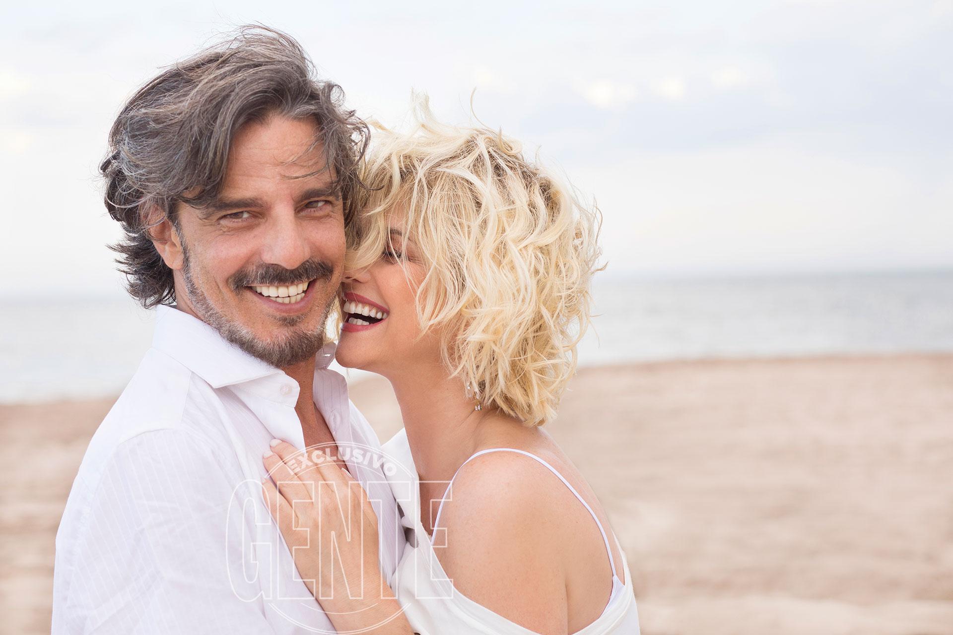 Araceli González y Fabián Mazzei se casaron en 2013. (Foto: Christian Beliera/GENTE)