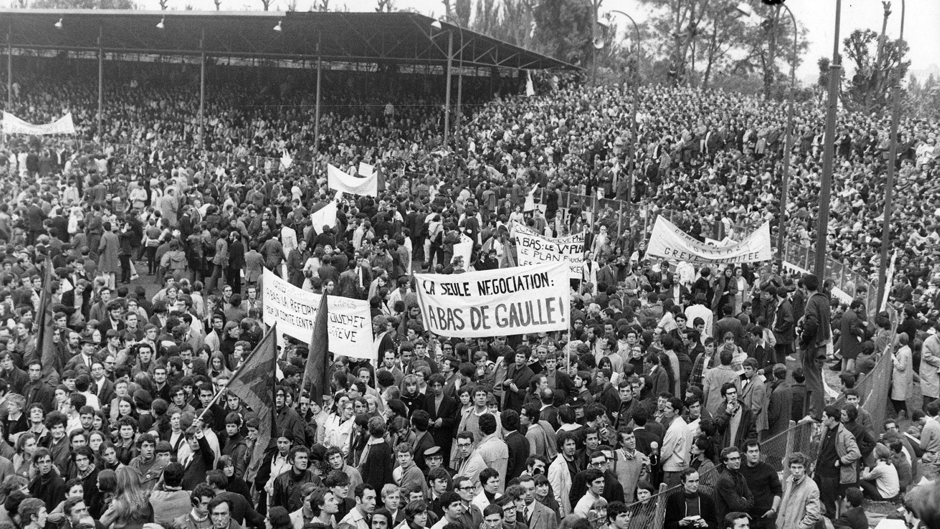 En el mundo eran días de movilización popular: poco tiempo antes había tenido lugar el Mayo Francés de 1968