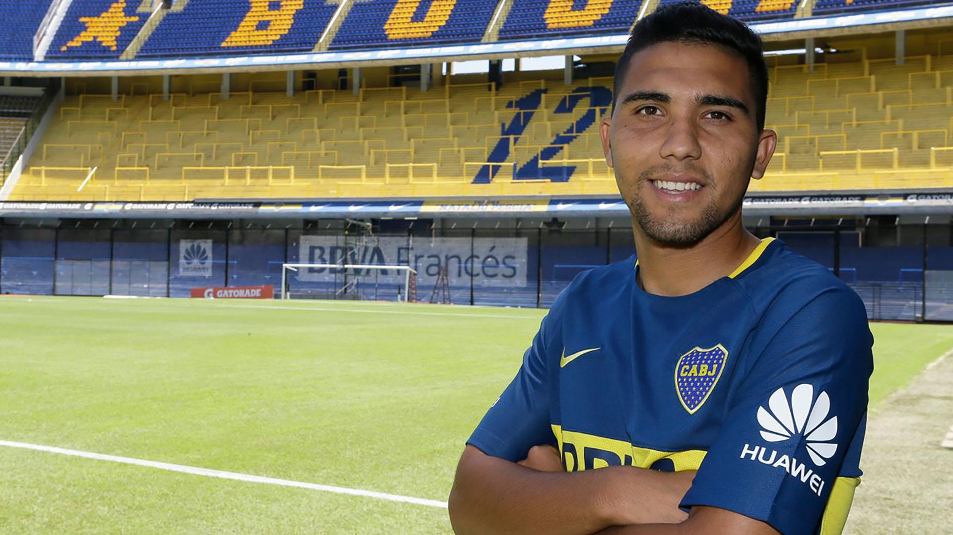 """Boca hizo oficial el arribo del """"Bebelo"""" Reynoso, su última ..."""