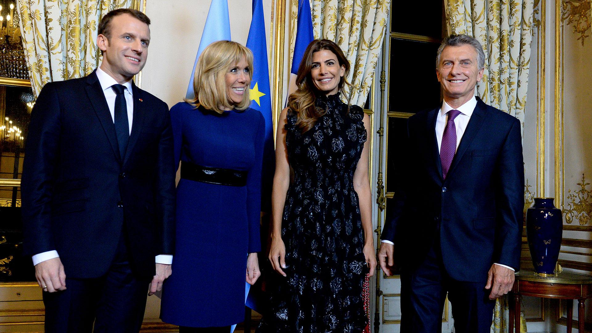 Los Macron y los Macri