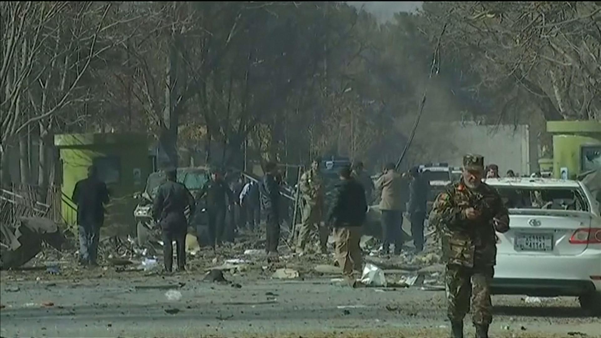 El atentado en Kabul dejó decenas de muertos y heridos