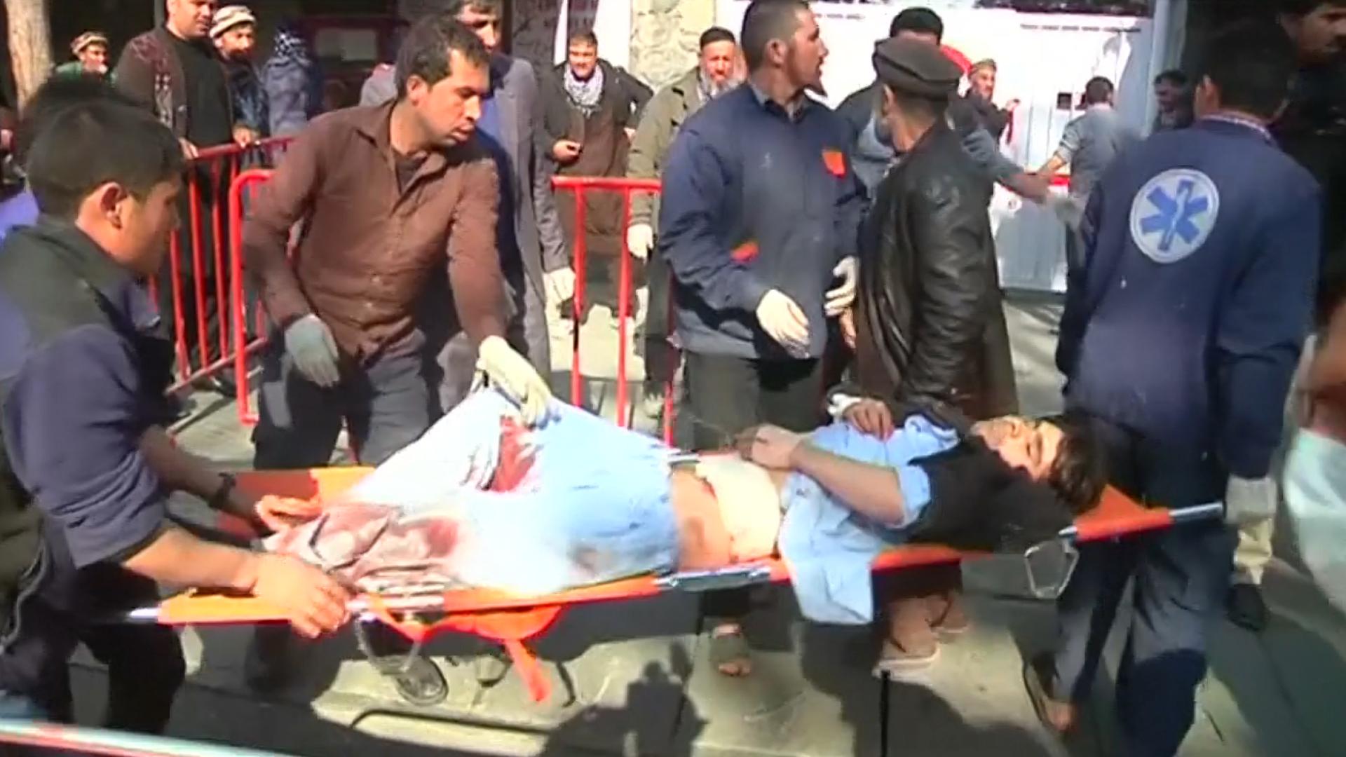 Un herido es trasladado al hospital