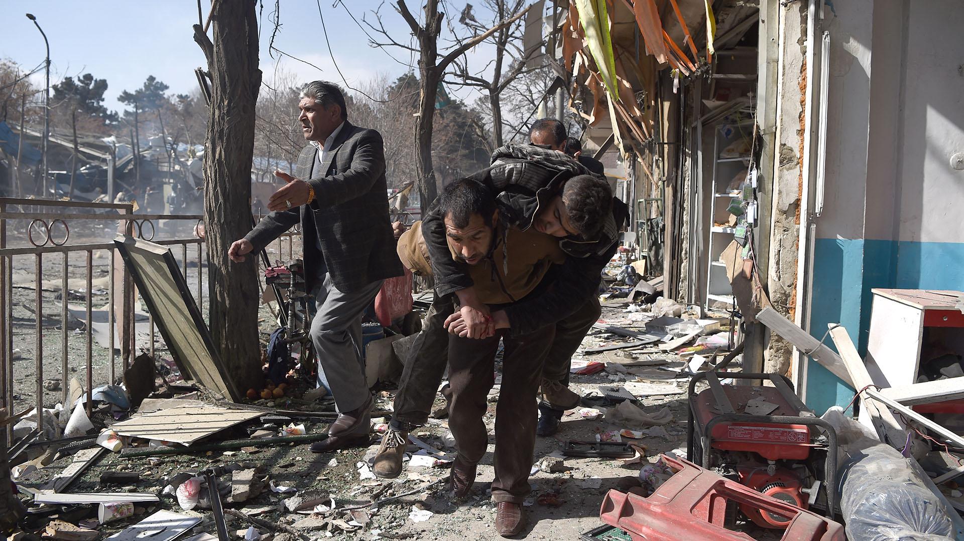 Los talibanes reivindicaron el ataque(AFP)
