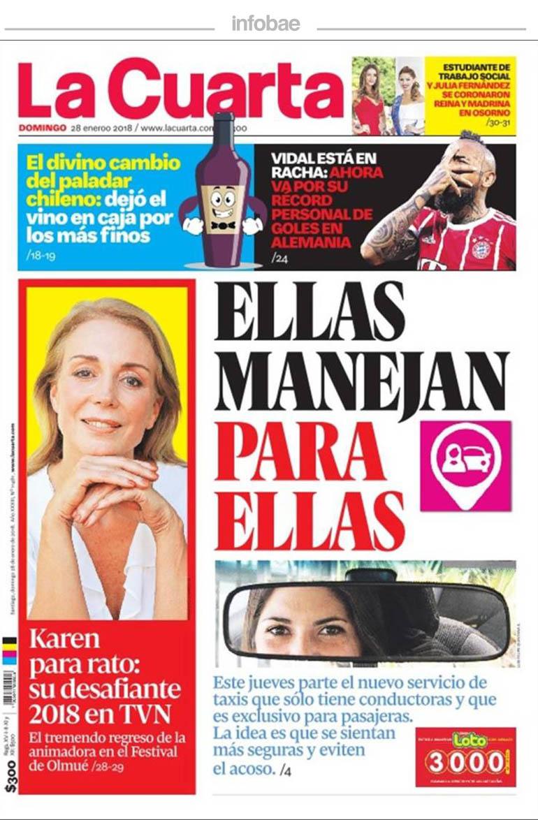 La Cuarta – Chile 28-01-2018 | ADN Mercedes