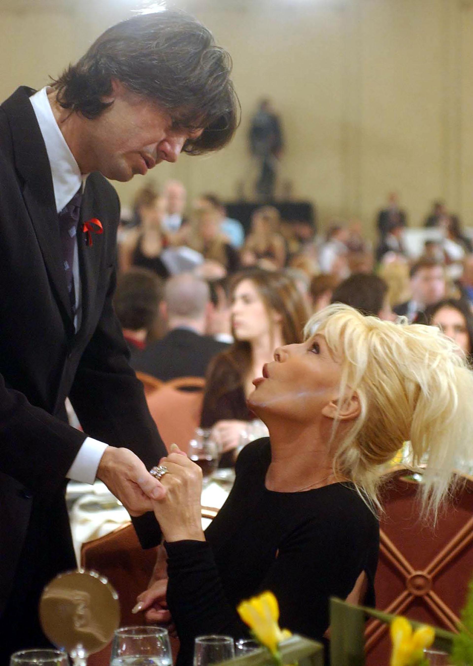 Marcelo Tinelli y Susana Giménez, en una de las fiestas de los premios Martín Fierro