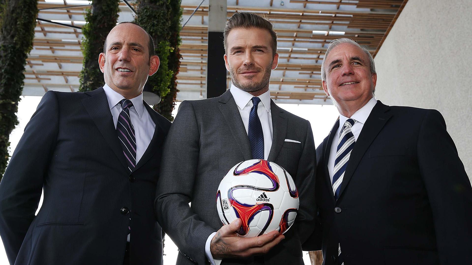 David Beckham tiene una franquicia del MLS en Miami (Getty)