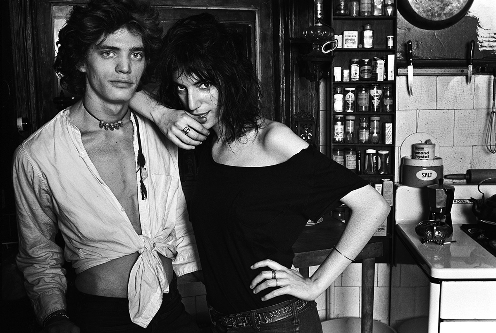 Robert Mapplethorpe y Patti Smith