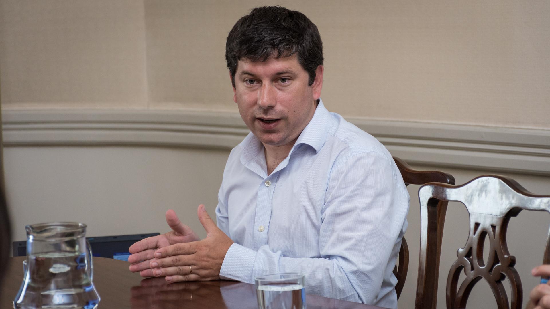 Pablo Domenichini, director nacional de desarrollo universitario y voluntariado (Martín Rosenzveig)