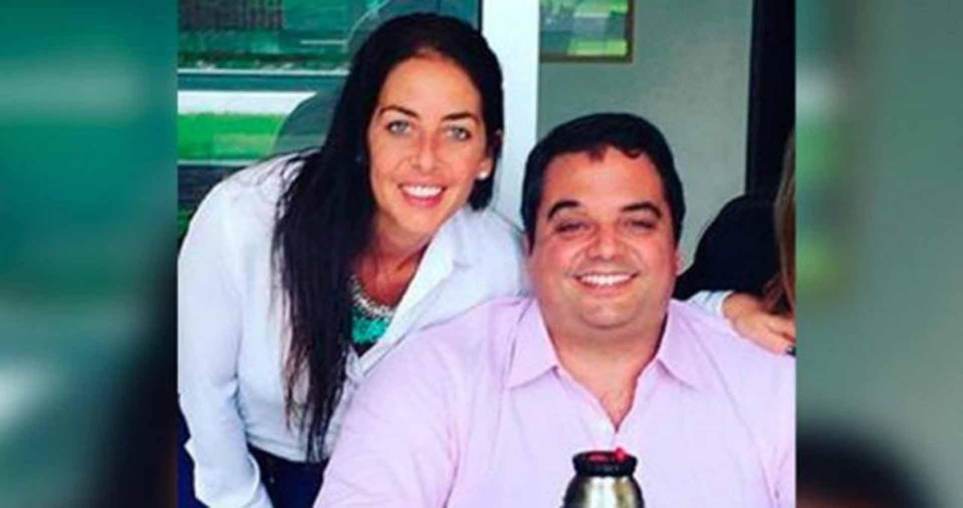 Jorge Triaca junto a su hermana Mariana, quien deberá abandonar el directorio del BNA