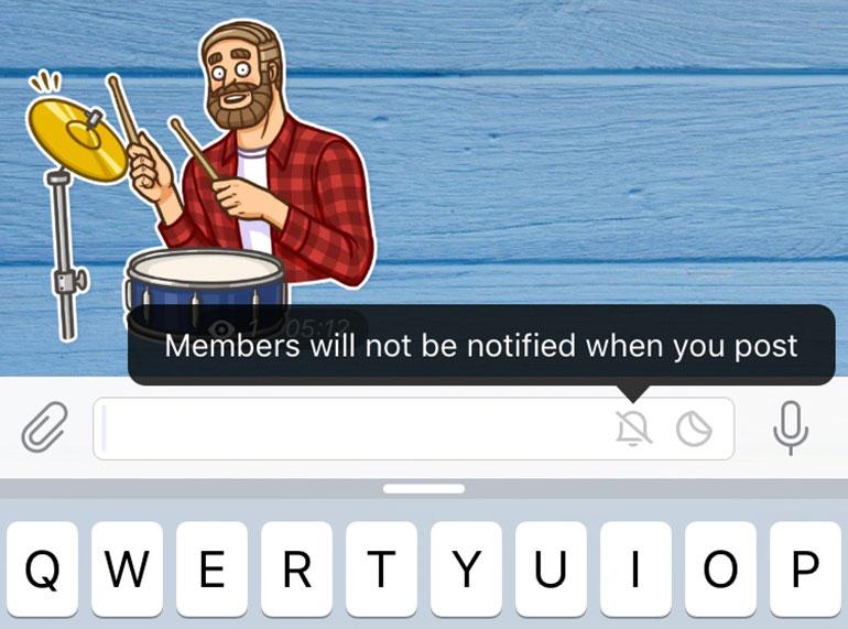 Telegram hace especial énfasis en sus stickers