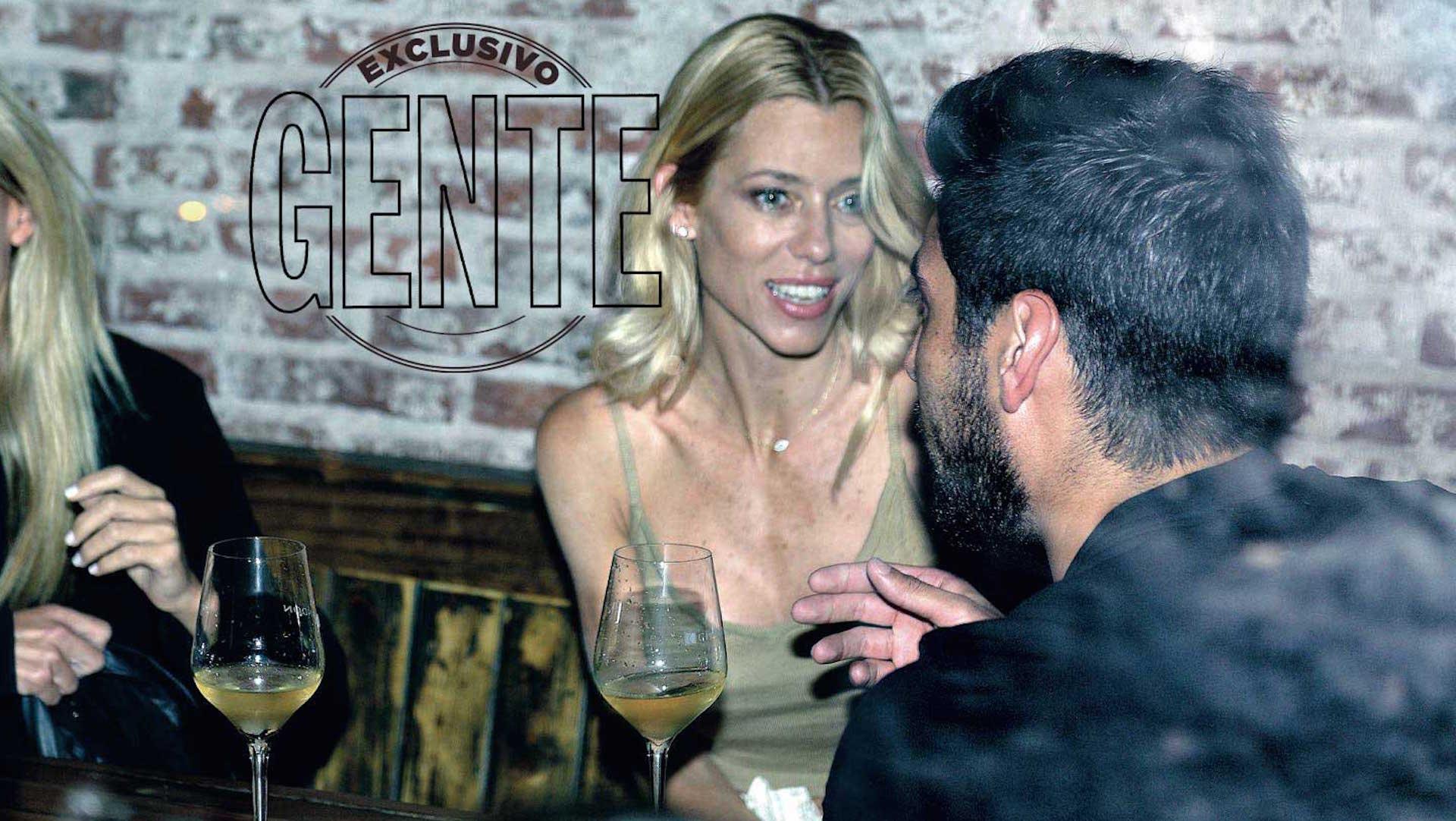 Nicole y Facundo en la noche de Mar del Plata cuando todos pensaban que se iban a reconciliar. (Foto Diego García GENTE)