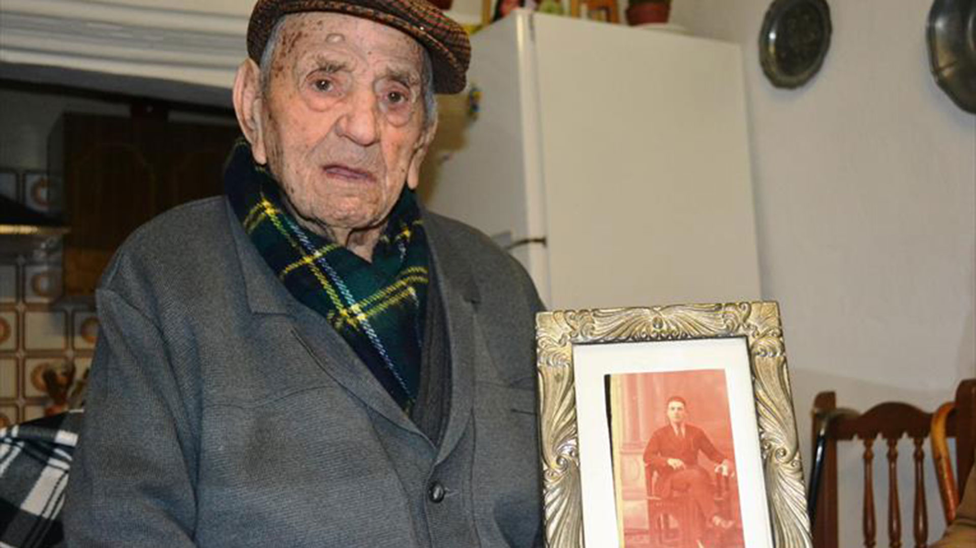 Tiene dos hermanos vivos, uno de 97 años y su hermana, de 93 (EFE)