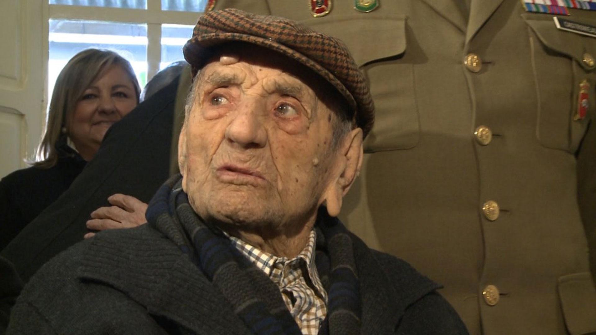 Con 113 años, era el hombre más longevo del mundo (EFE)